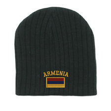 ARMENIA FLAG Embroidery Embroidered Beanie Skull Cap Hat