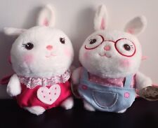Plush Bunny Small Shoulder Bag Coin Wallet Purse Cute Doll Metoo Child Gift Toy