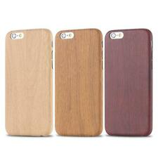 Fashion Wood Grain Soft PU Phone Shell Case Cover Skin for iPhone 6/6s 4.7""