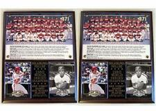 Philadelphia Phillies 1980 World Series Champions Photo Card Plaque