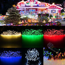 Solar Powered 200 LED Waterproof Fairy String Lights 22M Christmas Party Lamps