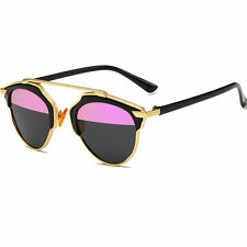 P9771 Stylish Women's Anti-UV Sunglasses Retro Goggle UV400