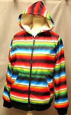 Faded Glory Uni-Sex Hooded Fleece lined Jacket Assorted Sizes Mulit-Colored BNWT