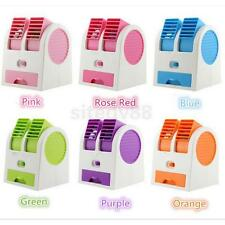 Portable Mini Hand Held Handy USB/Battery Desktop Air Conditioner Cooling Fan