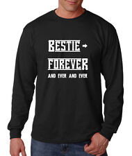 Bestie Forever And Ever And Ever Cotton Long Sleeve T-Shirt Tee
