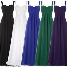 Maternity Women's Long Bridesmaid Dress Wedding Evening Cocktail Party Ball Gown