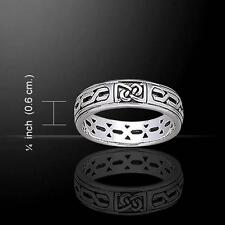Celtic Knotwork Silver Band TR1902