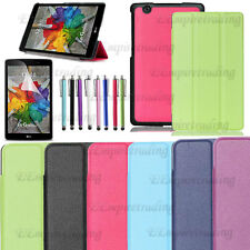 For LG G Pad X 8.0/3 8.0 Ultra Slim Stand Book Folio Leather Hard Case Cover