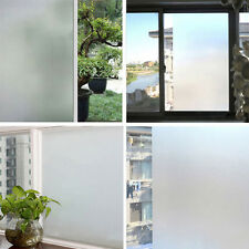 New PVC Frosted Privacy Frost Home Bedroom Bathroom Glass Window Film Sticker