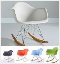 Eames Rocking Chair RAR Rocker Armchair Retro Modern Lounge Dinning Furniture