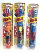 Kids - Childrens Colgate Marvel Spiderman Electric Battery Toothbrushes *NEW*