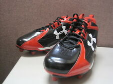 Under Armour Combat Mid D Mens Football Cleats 1099042-061 HN413