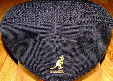 Black/Gold  KANGOL  Tropic  Ventair  504  Ivy  Cap  Style 0290BC