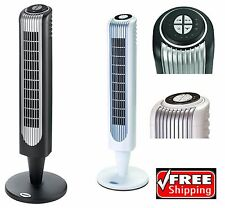 New Hawaiian Breeze 27 Oscillating Tower Fan 3 Speed