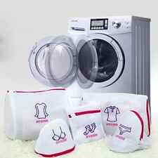 Five Suit Zipped Sock Bra Underwear Cloth Embroidery Mesh Laundry Washing Bags