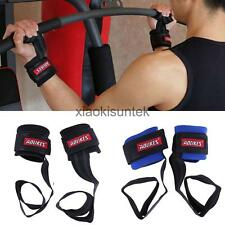 Weight Lifting Body Building Wrist Support Gym Bar Strap Hand Strap Training
