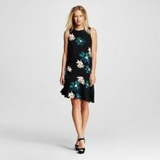 NWT! Who What Wear Target Sleeveless Fluted Shift Dress Floral XS S M L XL XXL