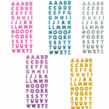 1pc Glitter Crystals 26 Alphabet Letter Stickers Self Adhesive A-Z Words Stick
