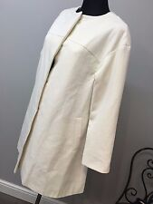 ASOS Coat In Trapeze With Dipped Hem RRP £75 (AS-26/12)