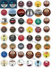 K-Cup Custom Variety PACKS, 16-64 Coffee And Tea K CUPS Sampler For Keurig