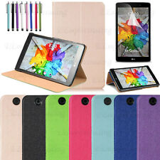 For LG G Pad X 8.0/3 8.0 Ultra Slim Stand Book Folio Protective Case Cover