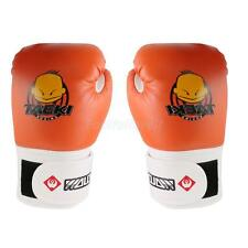 Kids PU Leather Grappling MMA Training Punch Bag Boxing Gloves Traning Gloves