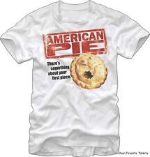 American Pie Movie Your First Piece Officially Licensed Adult Shirt S-XXL