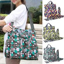 6Pcs/Sets Multifunction Large Baby Diaper Shoulder Bag Mummy Bags Nappy Bag