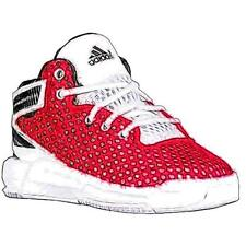 adidas D Rose 6 - Boys' Toddler Basketball Shoes (Scarlet/White/Black)