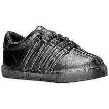 K-Swiss Classic - Boys' Toddler Casual Shoes (Black/Wide)