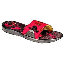 Under Armour Ignite IV Slide - Boys' Preschool Casual Shoes (Red/Taxi/Black)