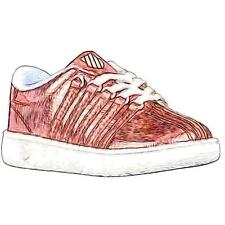 K-Swiss Classic - Girls' Toddler Casual Shoes (Irredescent/White)