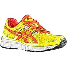 ASICS® GEL-Blur33 2.0 - Girls' Primary Sch. Running Shoes (Flash YL/Hot Punch/