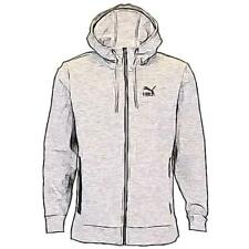 PUMA EVO Full Zip Casual Hoodie - Men's (Medium Grey Heather)