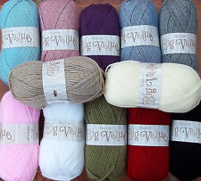 King Cole 100grm Big Value Aran: 12 Shades available