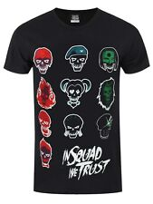 Suicide Squad In Squad We Trust Men's Black T-shirt