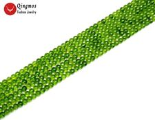 "SALE 6mm Green Rondelle Natural authentic Peridot Gemstone Loose Beads 15""-lo656"