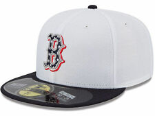 Official MLB Boston Red Sox Hat Stars Stripes New Era 59FIFTY Cap Made in USA
