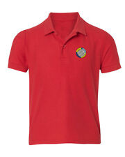 Beach Volleyball  Embroidered Kid Children Youth Polo Shirt/XS-XL Youth Size
