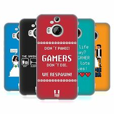 HEAD CASE DESIGNS A GAMER'S LIFE SOFT GEL CASE FOR HTC PHONES 2