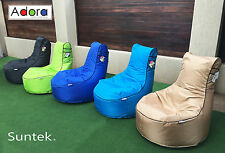 Bean Bag Chair heavy duty fabric fade & water resistant Adora Resort Style