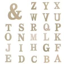 Wooden Decor Wedding Party Event Supplies Letter Alphabet Home DIY Art Craft