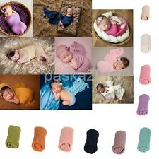 Baby Infant Stretch Crochet Wrap Photography Photo Props Knit Baby Blanket