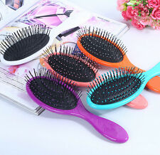 Tangle  Hair Brush Women men Bristles  Gentle  Salon Wet & Dry Detangling  New