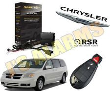 2016 DODGE GRAND CARAVAN PLUG & PLAY ADD ON REMOTE START 3 TIMES LOCK FLRSCH4