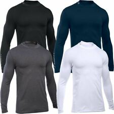 2016 Under Armour ColdGear Armour Fitted Base Layer Long Sleeve Mock