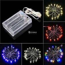 String Fairy Light 20 LED Battery Operated Xmas Lights Party Romantic DZ88