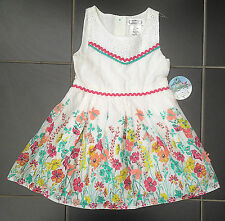 ВNWT Party Outfit Dress • Aphorism White Lace Flower Print Dress • Cotton • 2-3y