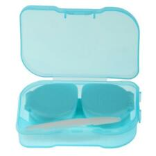 5 Colors Pocket Size Contact Lens Travel Kit Case Storage Holder Container