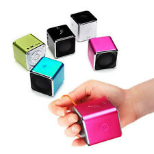 Portable Mini Stereo Speaker Music Player FM Radio PC MP3/4 TF Micro SD